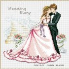 Kate Cross Stitch - Wedding Story (Asian)