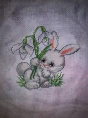 12.3.2013 - dokončenie zajačika - štvrtýkrát