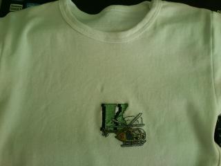 výšivka na tričko - pre Kristiána - hotovo