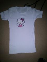 Hello Kitty - hotovo - na tričko