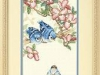 baby blue jays cross stitch kit  13728